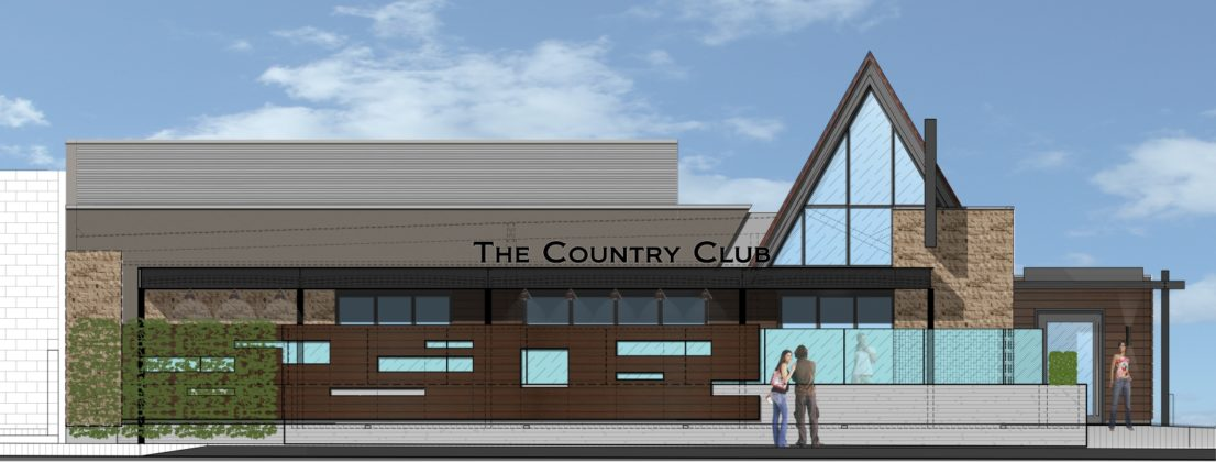 Country Club Digital Design Layout 2