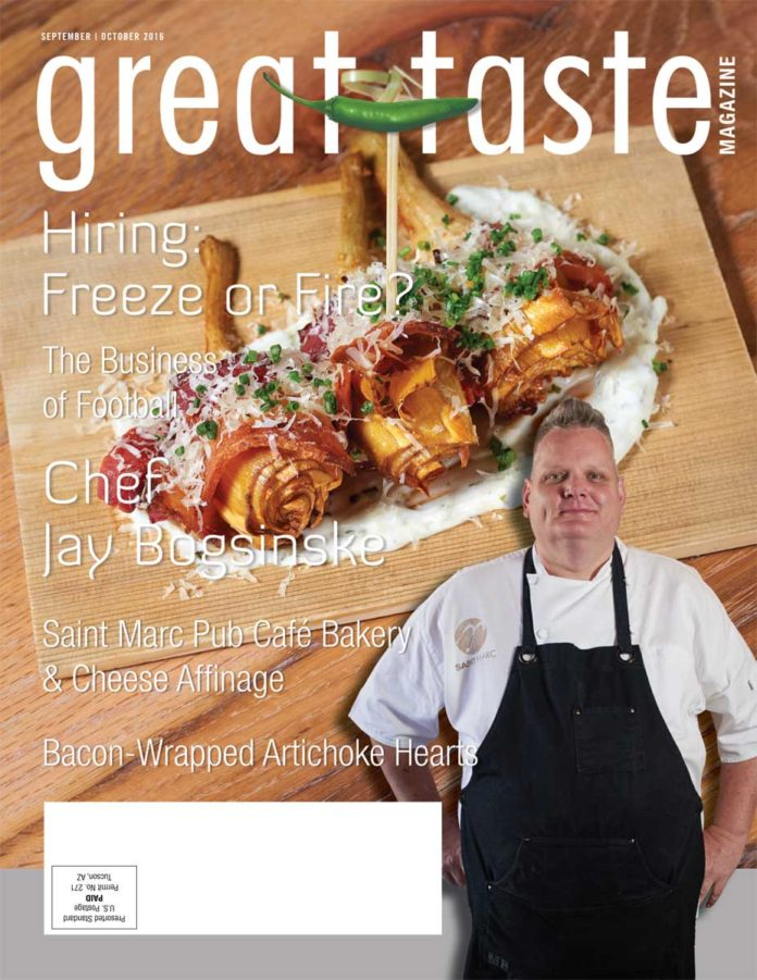 Great Taste Magazine 2016 September October Issue