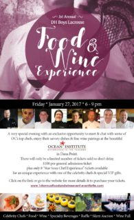 Food And Wine Experience Flyer