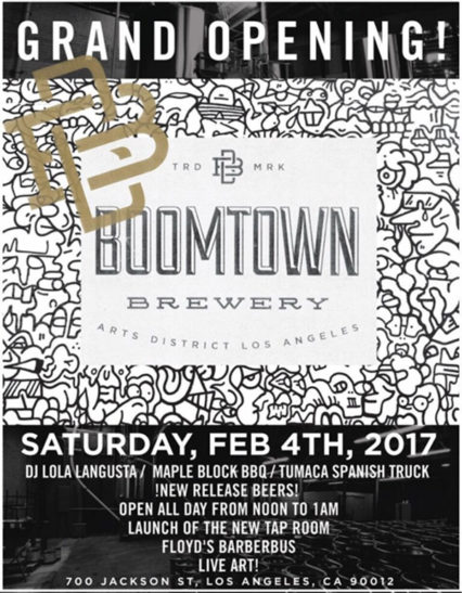 Boomtown Brewery Los Angeles