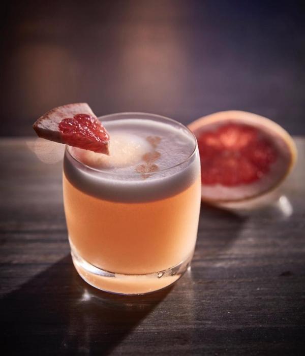 Liaison Restaurant + Lounge - Grapefruit Cocktail