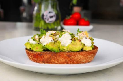 Burnt Crumbs Avo Toast