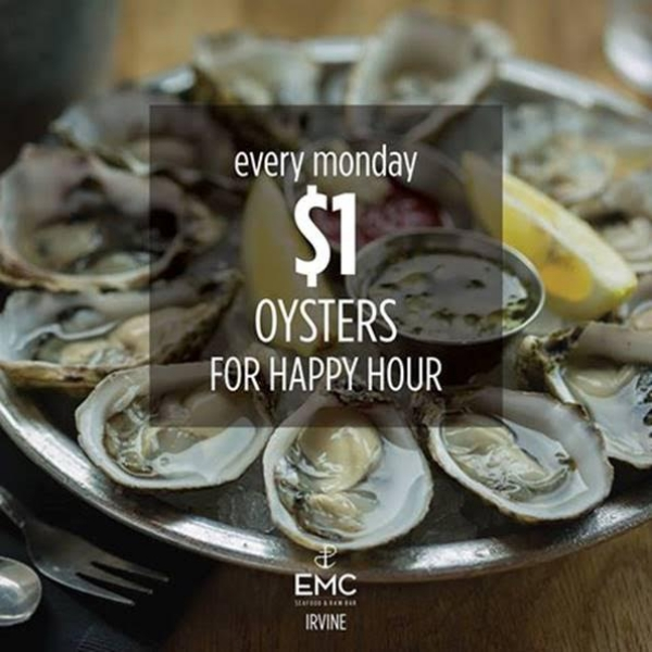 EMC Seafood And Raw Bar - $1 oysters $1 Oysters