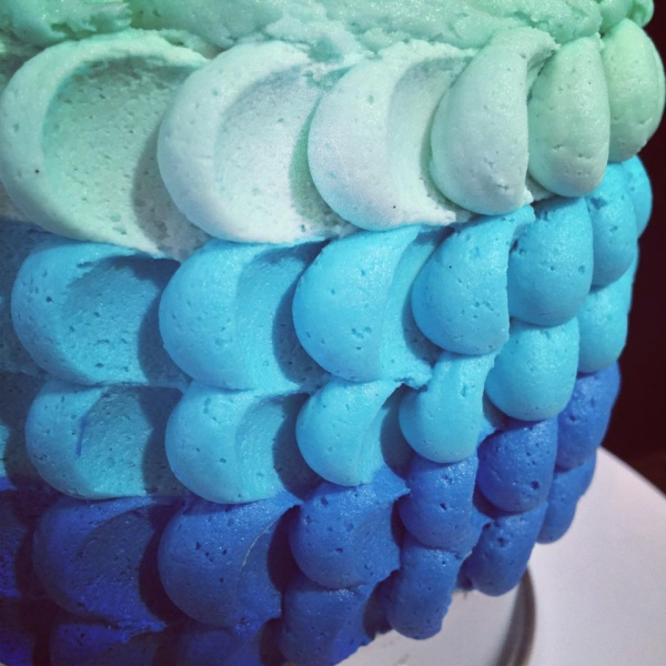 The Sweets Life - Ombre Cake