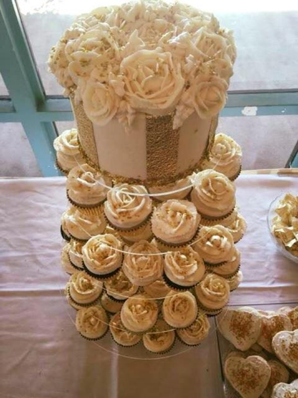 The Sweets Life - Wedding Cupcake Tower