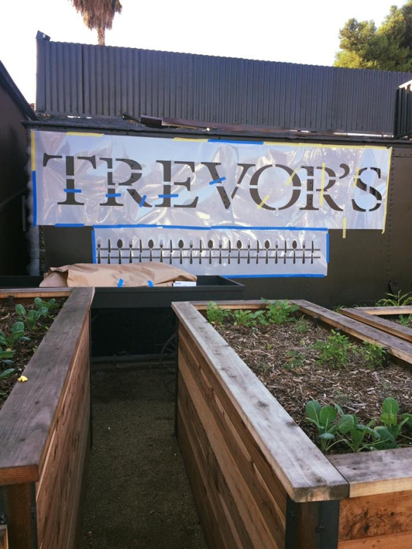 Trevor's at the Tracks Garden