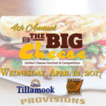 Big Cheese Grilled Cheese Festival & Competition Flyer
