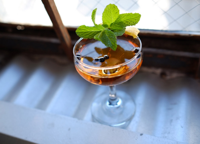 Blinking Owl Distillery Pink Gin March-tini Madness