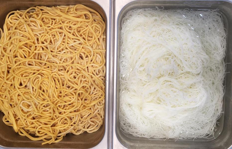 Howl Wok Noodle Choices