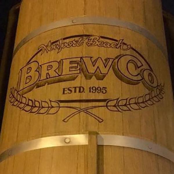 Newport Beach BrewCo Barrel