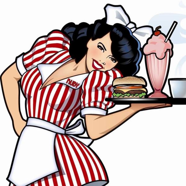 Ruby's Diner New Logo