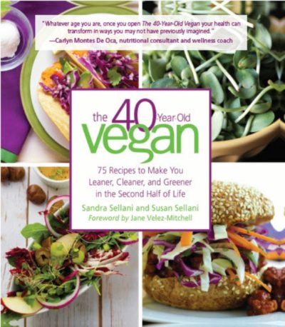 40 Year Old Vegan Cookbook Cover