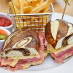 Back Bay Bistro New Spring Menu Ny Reuben Sandwich