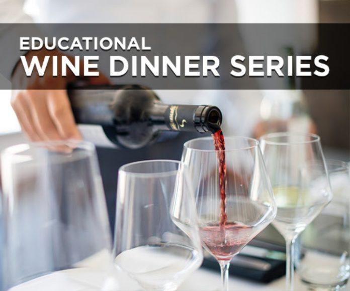Educational Wine Dinner Series Great Napa Valley Wines