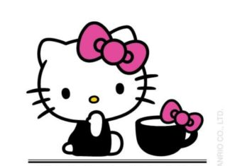 Hello Kitty Cafe Logo