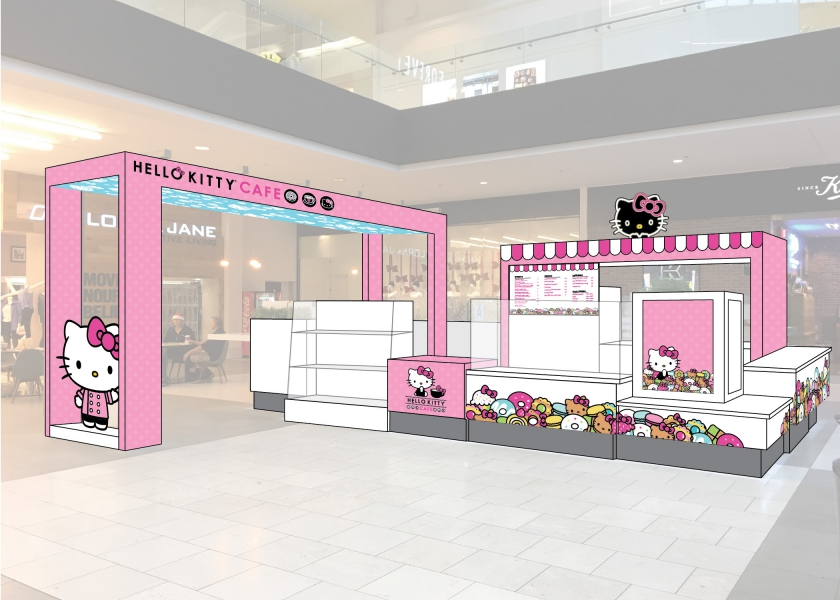 Hello Kitty Mini Cafe Design