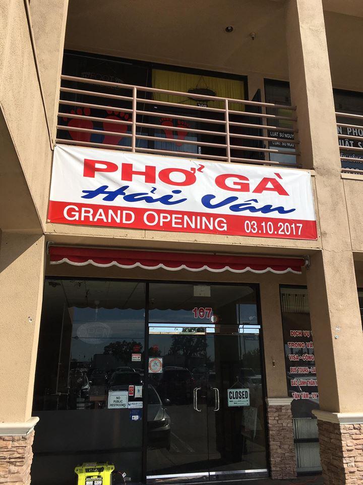 Pho Ga Hai Van Location