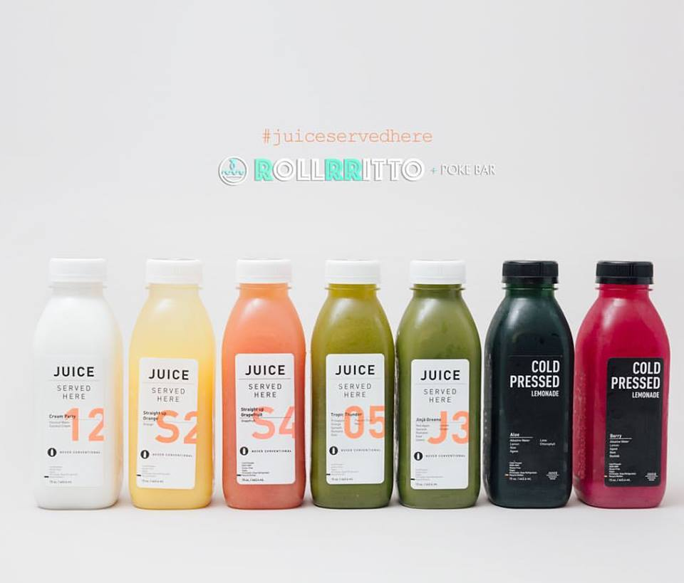 Rollrritto Poke Bar Cold Pressed Juice