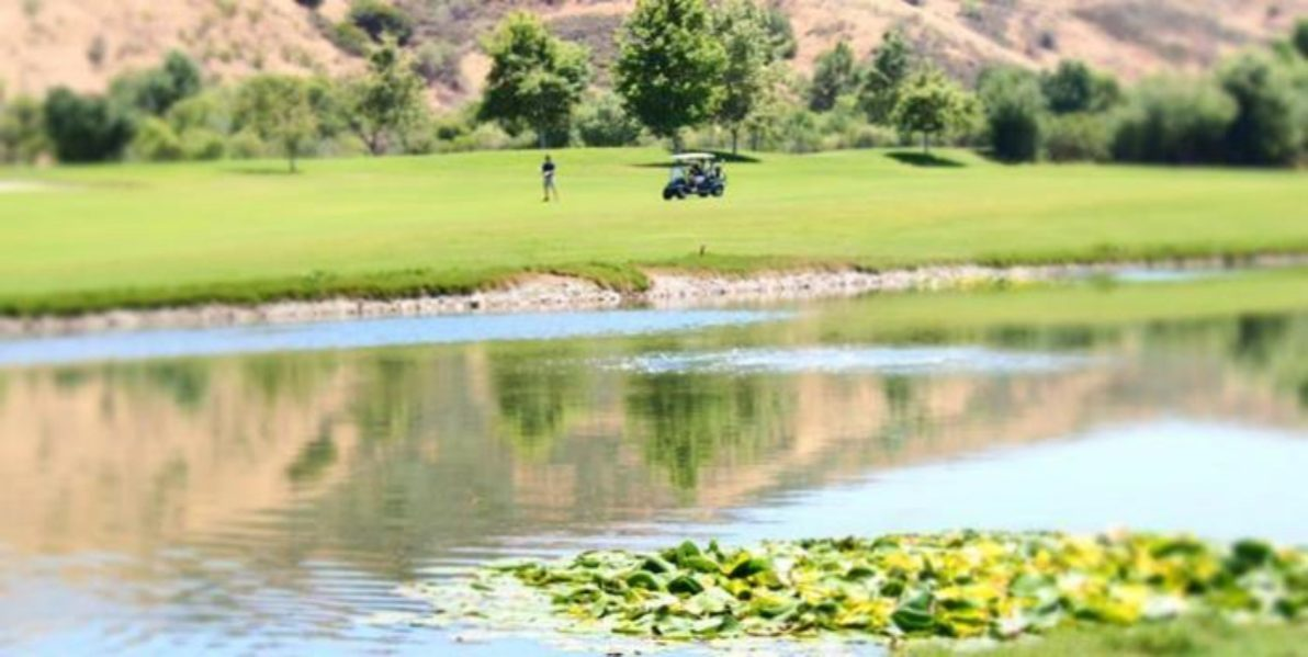 Arroyo Trabuco Golf Course Pond