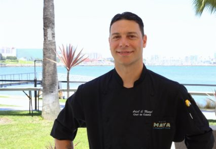 Chef Ariel Mungi Ciarrocca, Chef De Cuisine At Fuego At Hotel Maya A Doubletree By Hilton Photo
