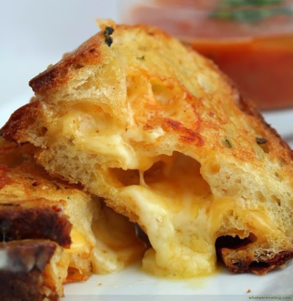 Park Ave Grilled Cheese