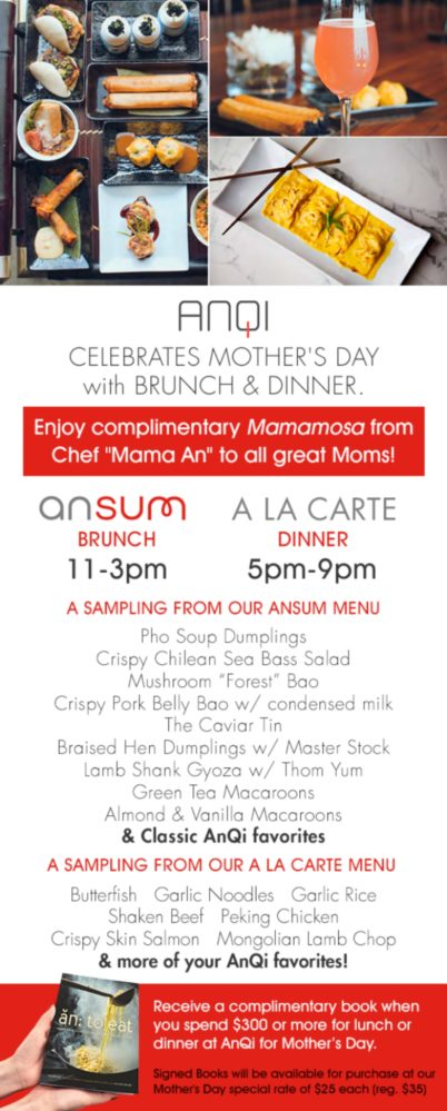 AnQi Mother's Day Flyer