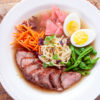 Farmhouse Hoisin Glazed Pork Tenderloin And Saimin Noodles Farmhouse