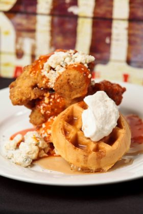 House Of Blues Anaheim Chicken And Waffles