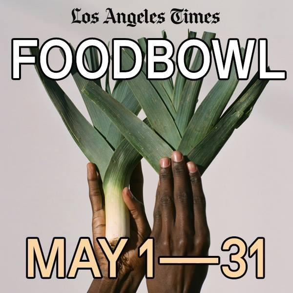 Los Angeles Times Food Bowl Flyer