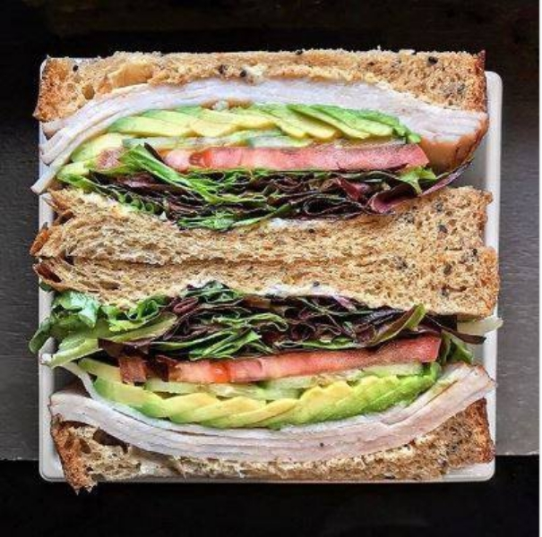 Paris Baguette Sandwich