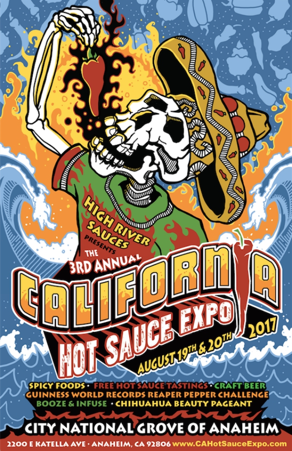 California Hot Sauce Expo Booze & Infuse Cocktail Competition