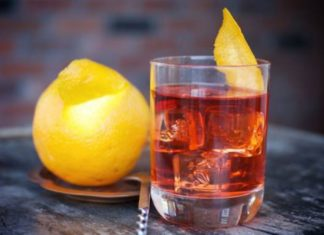 Brunos Negroni Cocktail