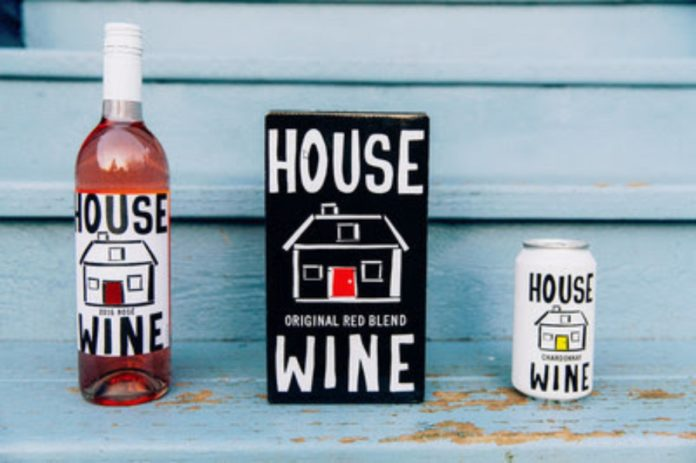 House Wine Rose & Cans