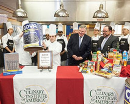 CIA Kitchen Named In Honor Of Goya Foods 2