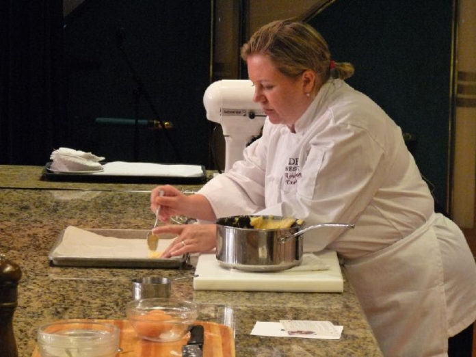 Chef Louise Cooking Demo