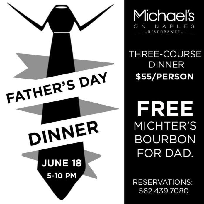Michael's On Naples Father's Day Dinner