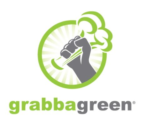 Grabbagreen Logo With Rays