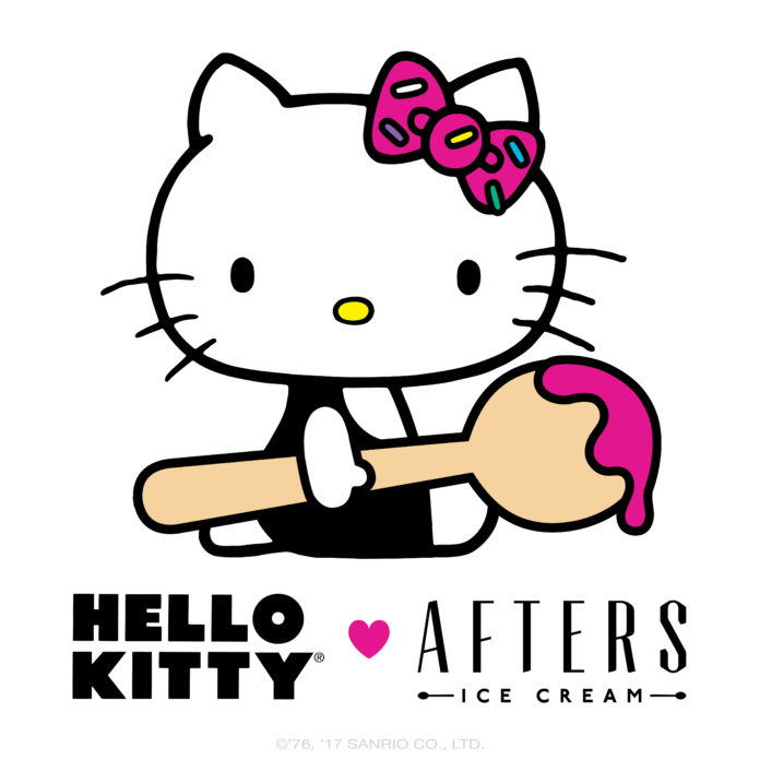 Hello Kitty ♥ Afters Ice Cream for a Special Tasting Event!