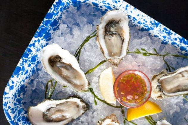 Ways & Means Chilled Oysters