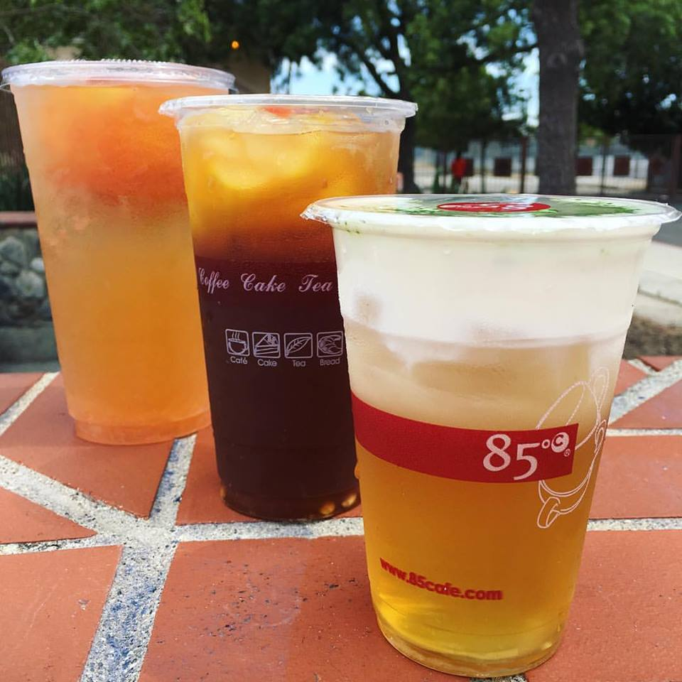 85 Degrees C Bakery Iced Tea
