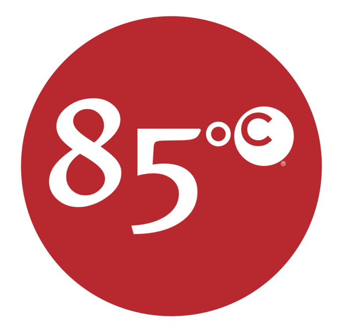 85 Degrees C Bakery Logo