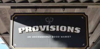 Provisions Store Sign