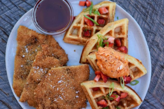 Recess Room Chicken And Waffles