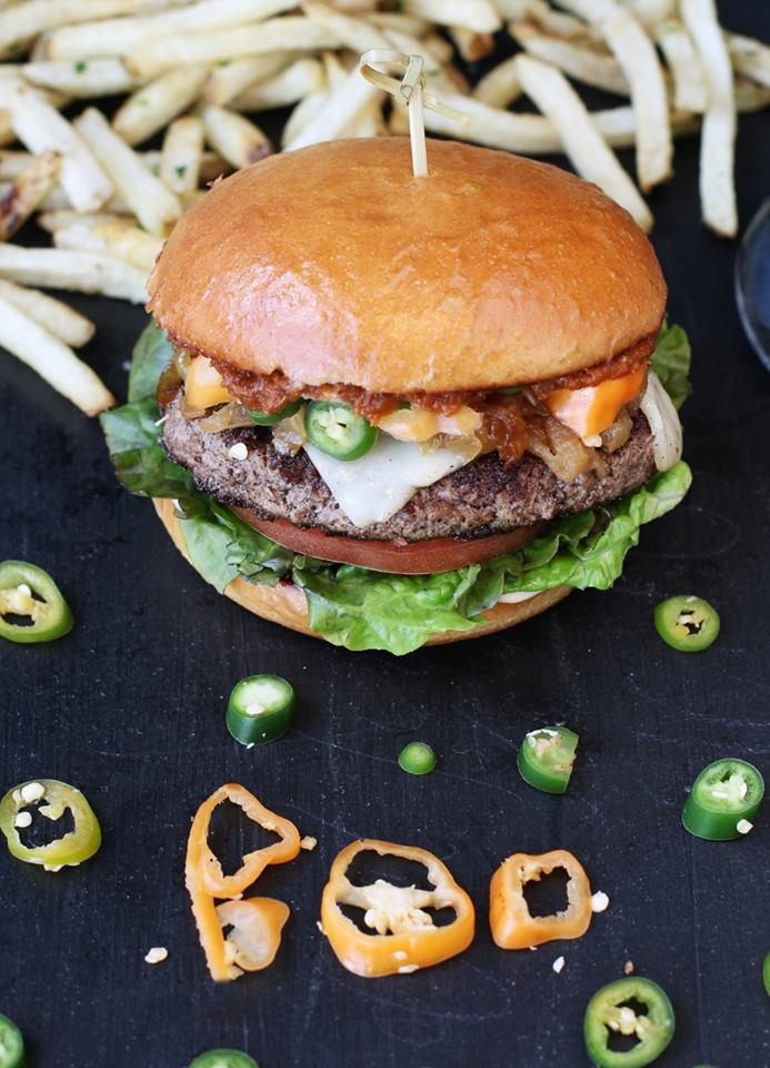 Hopdoddy Burger Bar El Diablo Burger
