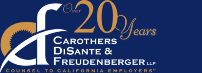 Carothers DiSante And Freudenberger Logo