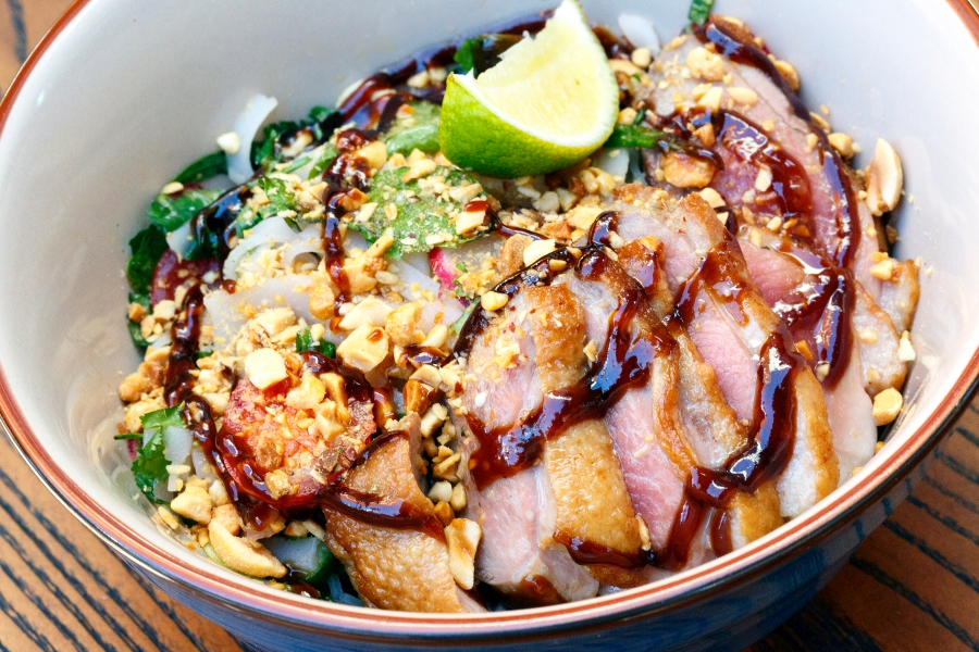 The Cure RoastedDuckWithRiceNoodles