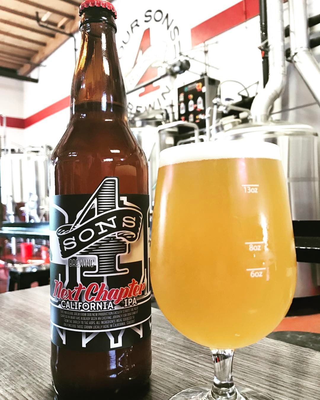4 Sons Brewing IPA Bottle