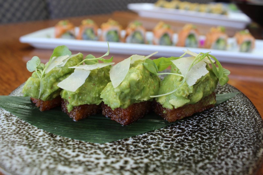 Sushi Roku New Menu Avocado Toast