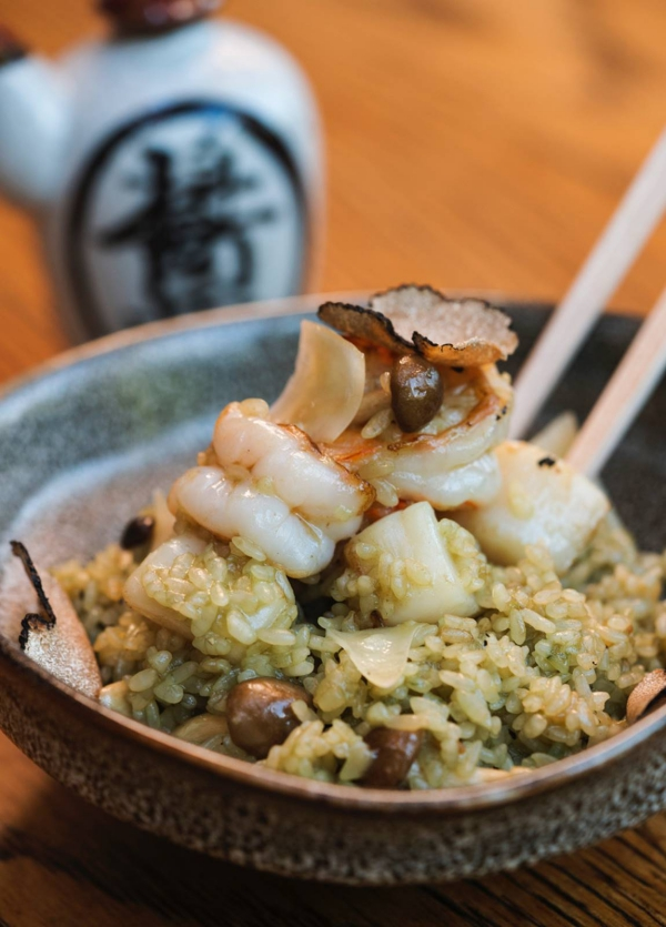 Sushi Roku New Menu Shrimp Fried Rice