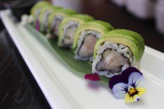 Sushi Roku New Menu White Fish Roll With Avocado